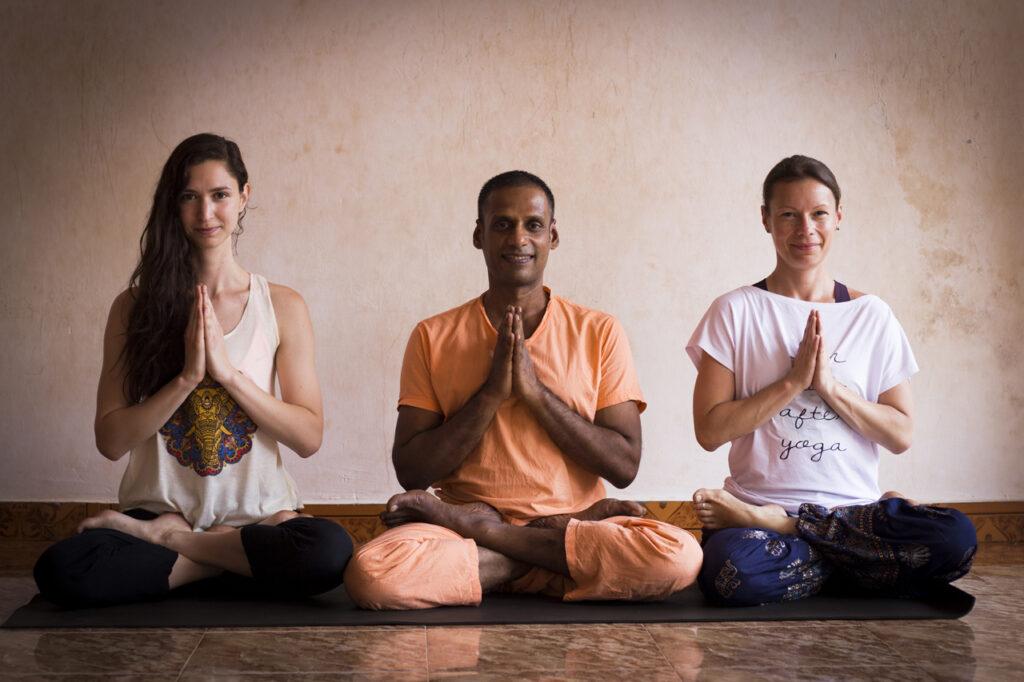 Miłość do ashtanga jogi.