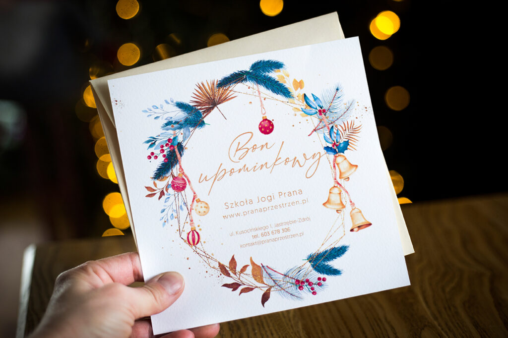 Bon Upominkowy – idealny prezent na nadchodzące Święta Bożego Narodzenia